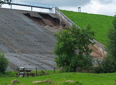 Whaley Bridge Dam wall partial collapse (Vespidae_Alex) Tags: whaley bridge dam wall collapse alex northey evacuated memorial park toddbrook reservoir derbyshire danger floods