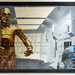 Lego picture of C-3PO and R2-D2