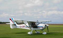 G-CIEF Eurofox, Scone (wwshack) Tags: eurofox scotland perthairport egpt sconeairport