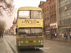 Dublin Bus D635 (635ZO). (Fred Dean Jnr) Tags: busathacliath dublinbus shill leyland atlantean an68 vanhool mcardle d635 zo d 635zo oconnellstreetdublin april1998 dublincitytour opentop