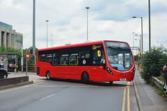 WS136 - 232 St. Raphael's (Gellico) Tags: ws135 london bus route 232 go ahead wright streetlite