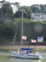 Shaldon Water Carnival 2019 (guyfogwill) Tags: 2019 august bateau bateaux beach boat boats coastal devon europe flicker fogwill gb gbr greatbritan guy guyfogwill harbour marine nautical oyster41 plage river riverteign shaldonwatercarnival2019 snowstorm sony southwest summer teignestuary teignbridge teignmouth teignmouthapproaches theshaldives tq14 uk unitedkingdom vessel photo interesting absorbing engrossing fascinating riveting gripping compelling compulsive vacances