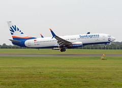 TC-SEO Boeing 737-8HC (Irish251) Tags: sun express b738 dub eidw dublin airport ireland 737