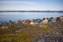 The Mosquito Vallly, Nuuk, Greenland, Denmark, North America (Miraisabellaphotography) Tags: nuuk greenland nature travel adventure travelling august2019 city houses sea