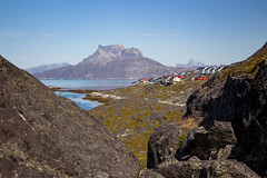 Nuuk, Greenland, Denmark, North America (Miraisabellaphotography) Tags: nuuk greenland nature travel adventure travelling august2019 sermitsiaq city houses mountain mountains hills hike hiking