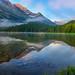 Morning in Lucern, Lake Josephine