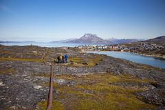 The walk to Inuk Hostel/Inuk Café, Nuuk, Greenland, Denmark, North America (Miraisabellaphotography) Tags: nuuk greenland nature travel adventure travelling august2019 city mountains mountain hills lake hike hiking sermitsiaq