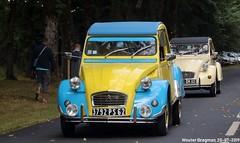 Citroën 2CV 1989 (Wouter Bregman) Tags: 3792ps62 citroën 2cv 1989 citroën2cv 2pk eend geit deuche deudeuche 2cv6 célébrationcentenairedecitroën célébration centenaire 2019 lafertévidame 28 eureetloire eure et loire france frankrijk vintage old classic french car auto automobile voiture ancienne française vehicle outdoor