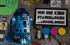 I'm not a vacuum cleaner ... Asshole!!! (michael_hamburg69) Tags: berlin germany deutschland streetart urbanart graffiti hausschwarzenberg rosenthalerstrase39 someone ichbinkeinstaubsaugerarschloch imnotavacuumcleanerasshole r2d2 starwars artoodetoo roboter astromechdroide astromechdroid