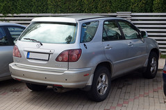 2000 Lexus RX 300 Heck (Joachim_Hofmann) Tags: auto kraftfahrzeug kfz verbrennungsmotor japanischesauto lexus toyota rx300 luxusmarketoyota