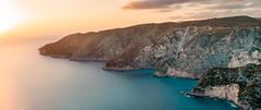 The best sunset in Zakynthos (lajosmarkus) Tags: kampi sunset best amazing sea long exposure cross travern zakynthos zante island sony a7iii nd greece viewpoint ion ionian colors taverna