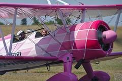 Danielle Del Buono (Franck Mée) Tags: boeing avion stearman wingwalker aéronautique danielledelbuono aéroportdangoulêmecognac