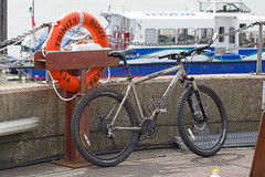 My Marin at Trinity Buoy Wharf (ArtGordon1) Tags: marin rockyridge atb mtb mountainbike cycle cycleride cycling trinitybuoywharf london england thames riverthames davegordon davidgordon daveartgordon davidagordon daveagordon artgordon1 e14 summer august 2019