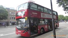 P1170208 BDE2623 LJ19 CUV at Angel Station Upper Street Islington London (LJ61 GXN (was LK60 HPJ)) Tags: metroline byd enviro400evcity enviro400ev enviro400city e400ev electric 109m 10900mm bde2623 lj19cuv j41710