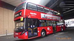 P1170198 BDE2634 LJ19 CVH at London Bridge Bus Station London Bridge Approach London Bridge London (LJ61 GXN (was LK60 HPJ)) Tags: metroline byd enviro400evcity enviro400ev enviro400city e400ev electric 109m 10900mm bde2634 lj19cvh j4289