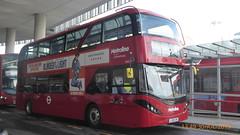 P1170180 BDE2637 LJ19 CVM at London Bridge Bus Station London Bridge Approach London Bridge London (LJ61 GXN (was LK60 HPJ)) Tags: metroline byd enviro400evcity enviro400ev enviro400city e400ev electric 109m 10900mm bde2637 lj19cvm j42812
