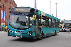 Arriva 3077 (anthonymurphy5) Tags: dadnladtransportphotos flickr outdoor outside liverpool photography transportphotography transportation transport travel buspictures busdriver bus busphotography arriva3077 mx61awh vdlbus wrightpulsar queensquarebusstation