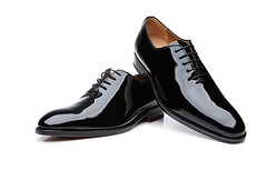 Patent wholecut 1 (Adam11051983) Tags: black dress footwear formal lace leather men mens patent shoe shoes wholecut