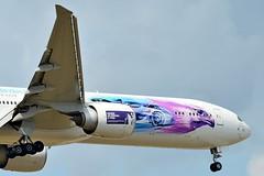 "HZ-AK43 Saudi Arabian Airlines Boeing 777-300  ""2018 Saudia Ad Diriyah E-Prix"" (czerwonyr) Tags: hzak43 saudi arabian airlines boeing 777300 2018saudiaaddiriyaheprix fra eddf"
