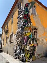 Half Rabbit - Bordalo II (NickAlbe) Tags: luiz vida douro quinta porto street art upcycling rubbish gaia nova vila