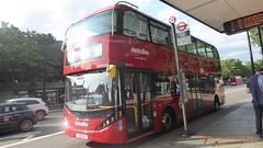 P1170211 BDE2636 LJ19 CVL at Angel Station Upper Street Islington London (LJ61 GXN (was LK60 HPJ)) Tags: metroline byd enviro400evcity enviro400ev enviro400city e400ev electric 109m 10900mm bde2636 lj19cvl j42811