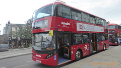 P1170203 BDE2627 LJ19 CVA at Angel Station Upper Street Islington London (LJ61 GXN (was LK60 HPJ)) Tags: metroline byd enviro400evcity enviro400ev enviro400city e400ev electric 109m 10900mm bde2627 lj19cva j4282
