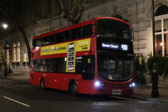 Route N20, Metroline, VWH2038, LK64EHF (Jack Marian) Tags: routen20 metroline vwh2038 lk64ehf trafalgarsquare barnetchurch volvo volvob5lh b5lh hybrid wright wrighteclipse eclipse gemini wrighteclipsegemini3 gemini3 buses bus london nightbus
