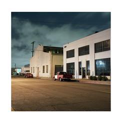 Night (ADMurr) Tags: dba788 la eastside industrial hasselblad 500cm 50mm distagon film mf 6x6 fuji pro 400 night clouds