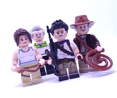 Adventurers (Barratosh#2) Tags: unchartered tomb raider indiana jones dr henry nathan nate drake lara croft sully adventure video game movie lucasfilm harrison ford lego minifigure