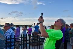 Shooting the sunset - Mallory Square, Key West - EXPLORE #66 (8-4-19) (stevelamb007) Tags: sunset nikon florida photographers keywest mallorysquare stevelamb d7200 tourists