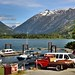 Boat Dock and Mountain View at Stehekin (North Cascades National Park Service Complex)
