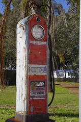 Old Fuel Pump (iainken) Tags: fuel pump old ampol fill her up petrol faded antique bygone days motoring