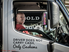 Driver Does Not Carry Cash (ViewFromTheStreet) Tags: allrightsreserved berks berkscounty blick blickcalle blickcallevfts bold calle copyright2019 driver driverdoesnotcarrycash driverdoesnotcarrycashonlycashews onlycashews pennave pennavenue pennsylvania photography readingpa stphotographia streetphotography truckdriver viewfromthestreet westreading westreadingpa amazing candid carrycash cash cashews classic guy male man reading street truck vftsviewfromthestreet ©blickcallevfts ©copyright2019blickcalle