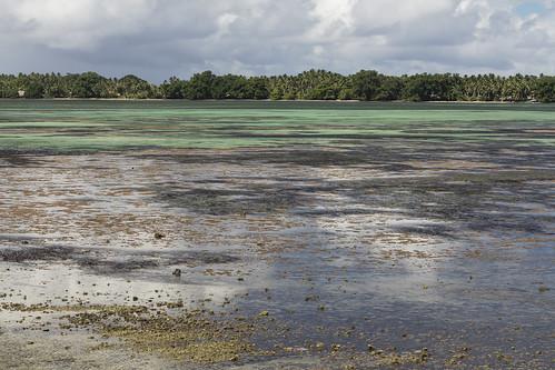 Low tide on Rotuma Island, Fiji