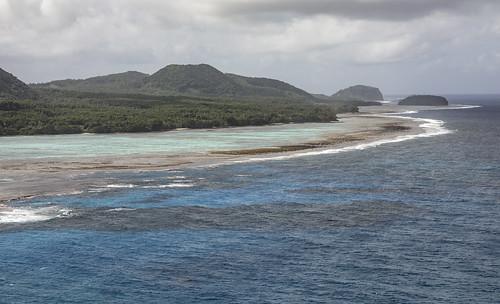 Rotuma, Fiji, view of the south coast