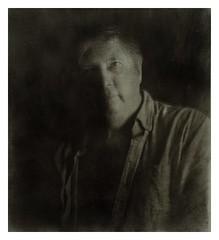 Kjell (Odd Magne Ulvund) Tags: portraitphotography portrait 4x5 gandolfi largeformat darkroomprint ilovefilm filmphotography fomapan liquidemulsion bromoil darkroom analog kirkøyfilm hvaler