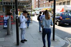 Everyday People in London (Rick & Bart) Tags: london uk city urban camdentown rickvink rickbart canon eos70d everydaypeople people strangers candid streetphotography camdenmarket camdenlock smartphone