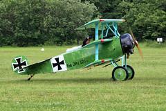 "F-AZVD / ""525/17"" La Ferte Alais 09/06/19 (Andy Vass Aviation) Tags: lafertealais fokkerdr1 fazvd"