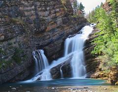 Cameron falls (Rob McC) Tags: landscape waterfall le longexposure movement water river waterton alberta canada cameron falls