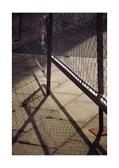Fine Grid (Thomas Listl) Tags: thomaslistl color 100mm fence grid fine shade shadows light lines geometry diagonal warm summer sunlight construction