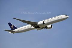 Saudi Arabian Airlines HZ-AK39 Boeing 777-3FGER cn/61592-1457 @ EGLL / LHR 14-05-2019 (Nabil Molinari Photography) Tags: saudi arabian airlines hzak39 boeing 7773fger cn615921457 egll lhr 14052019