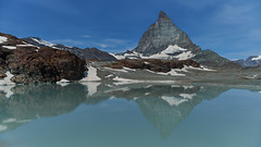 Matterhorn east side (ivoräber) Tags: trockener steg matterhorn zermatt sony switzerland schweiz systemkamera swiss suisse alps lake mountain