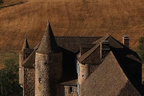 Le château de Bélinay (Paulhac, Cantal)