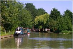 Long Itchington (Lotsapix) Tags: longitchington warwickshire canal canals narrowboat narrow boat boats water