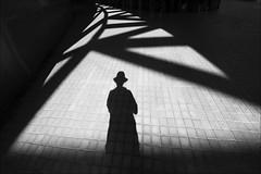 F_MG_4304-Canon 6DII-Sigma 12-24mm-May Lee 廖藹淳 (May-margy) Tags: maymargy bw 黑白 人像 投影 逆光 剪影 幾何構圖 點人 街拍 線條造型與光影 天馬行空鏡頭的異想世界 心象意象與影像 台灣攝影師 磁磚地坪 新北市 台灣 中華民國 fmg4304 portrait backlighting silhouette shadow tiledpavement humaningeometry humanelement streetviewphotography linesformsandlightandshadow mylensandmyimagination naturalconsequencethrumylens taiwanphotographer newtaipeicity taiwan repofchina canon6dii sigma1224mm maylee廖藹淳