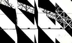 Long journey, short memory (Hans Veuger) Tags: nederland thenetherlands amsterdam amsterdamnoord ndsm ndsmdocklands ndsmwharf streetart zwwt bw graffiti nikon b700 coolpix nederlandvandaag unlimitedphotos twop ndsmplein hss miskaroben
