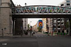 Colorz in Paris (MF[FR]) Tags: paris france îledefrance europe samsung nx1 street art 13 graffiti métro train vandale fresque pont bridge ligne 6 ratp rue