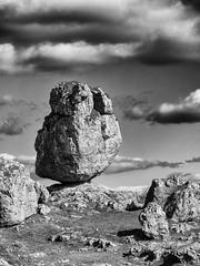 Chaos du Vieux Nîmes (penelope64) Tags: lozère olympusem1 france cévennes rochers noiretblanc paysage nature