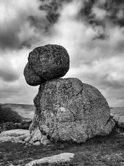 Rocher (penelope64) Tags: lozère olympusem1 france cévennes rochers noiretblanc paysage nature