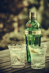 Number Ten (Captainchaoz) Tags: number ten tanqueray gin cut glass beaconsfield